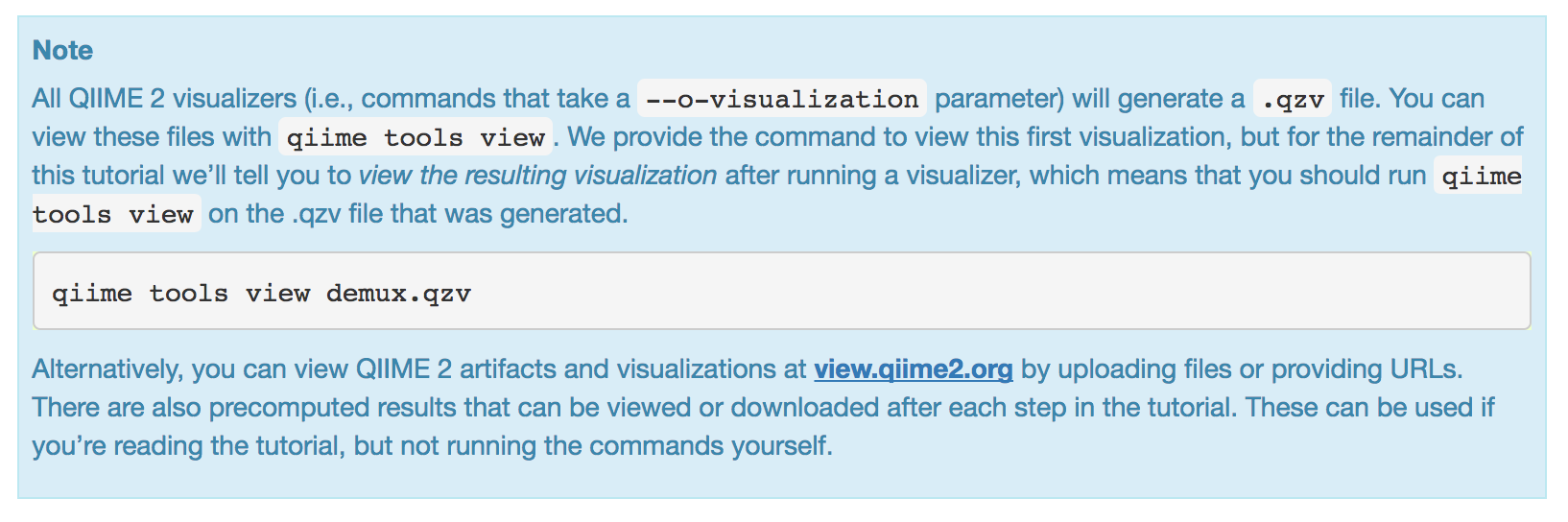 There is no quality plot in the demux.qzv - User Support - QIIME 2 Forum